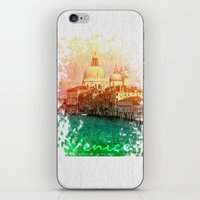 venice iPhone & iPod Skins featuring Venice by GingerRogers