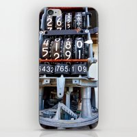 numbers iPhone & iPod Skins featuring Numbers by Kent Moody