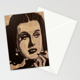 Hedy Lamarr Stationery Cards