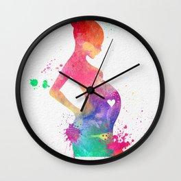 New Mom 009 Wall Clock