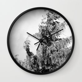 The Tree in the Wind Wall Clock