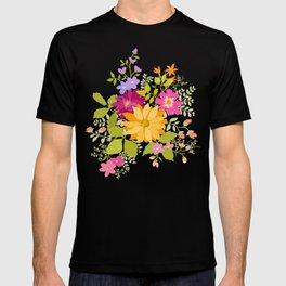 Bold Flowers T-shirt