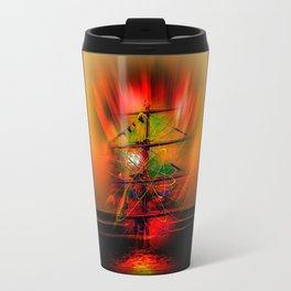 Sailing romance Travel Mug