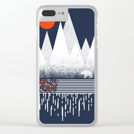 Chill of Winter Clear iPhone Case