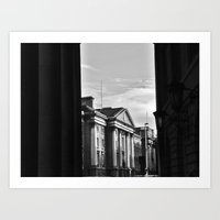 dublin Art Prints featuring Dublin by Mithun Pota