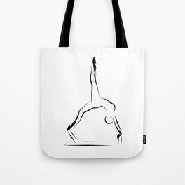 Pilates pose9 Tote Bag