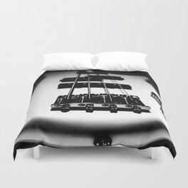 Bass Lines Duvet Cover