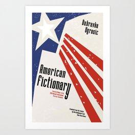 AMERICAN FICTIONARY Art Print