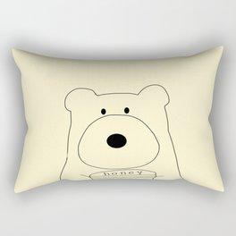 bear-475 Rectangular Pillow