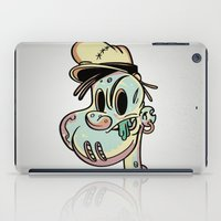 popeye iPad Cases featuring Brains and Spinach by Maus Ventura