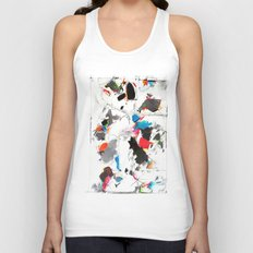 Tribute to Tinguely Unisex Tank Top
