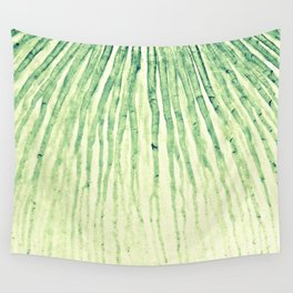Flow green Wall Tapestry