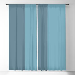 Parable to Behr Blueprint Color of the Year and Accent Colors Vertical Stripes Blackout Curtain