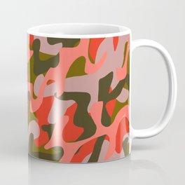 Coral Camouflage 2 Coffee Mug