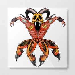 aghori crab Metal Print