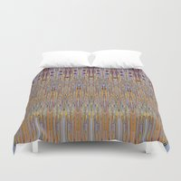 geo Duvet Covers featuring GEO by Helyx Helyx