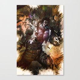 League of Legends Dr. MUNDO Canvas Print