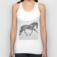 lee pace Tank Tops featuring Paisley Pace by Caballos of Colour