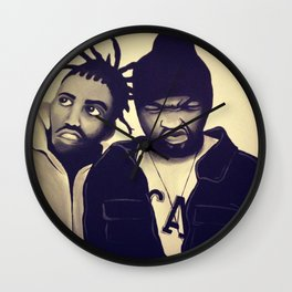 method man odb Wall Clock