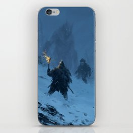 I think we found Björn! iPhone Skin