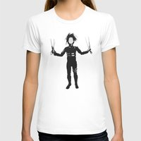 edward scissorhands T-shirts featuring Edward Scissorhands by Steal This Art
