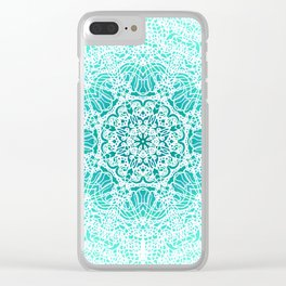 Mehndi Ethnic Style G344 Clear iPhone Case