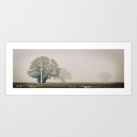 Enduring Winter Art Print