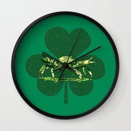 A Pinch o' Green Wall Clock