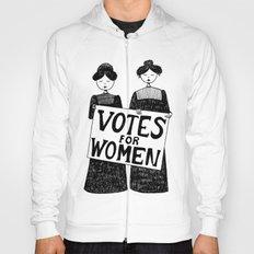 votes for women Hoody