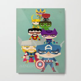 avengers 2 fan art Metal Print