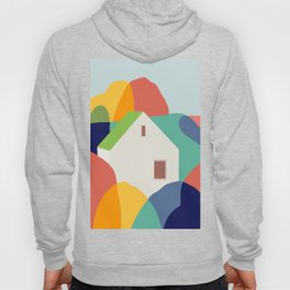 Green roof cottage Hoody