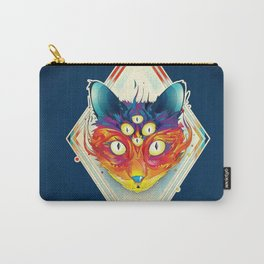 Cat eyes fire Carry-All Pouch