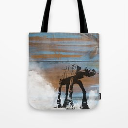 Blue Hoth Tote Bag