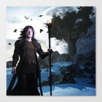 merlin Canvas Prints featuring Merlin by Gabor Gabriel Magyar