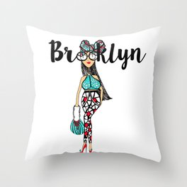 HeadWrapped Throw Pillow