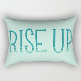Rise Up Rectangular Pillow