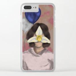 Belleza Guatemalteca Clear iPhone Case