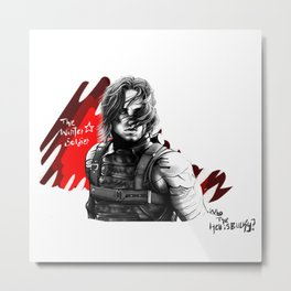 Who the hell is Bucky? Metal Print