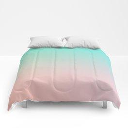 HEAVY RAINS - Minimal Plain Soft Mood Color Blend Prints Comforters