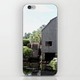 The Water Wheel iPhone Skin