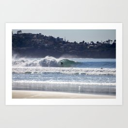 Blacks Beach Art Print