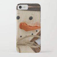 snowman iPhone & iPod Cases featuring Snowman  by IowaShots