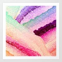 FLAWLESS UNICORN RAINBOW Art Print