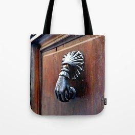 Paris Door Knocker Tote Bag