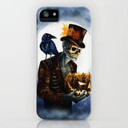Shadow Man 4 iPhone Case