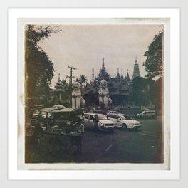 Burmese Memories #2 Art Print