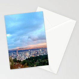DOWNTOWN PORTLAND - SUMMER Stationery Cards