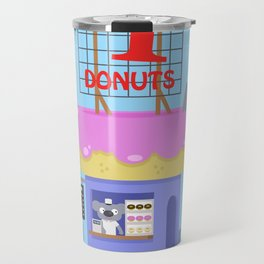 Snack Shacks #1 - Number One Donuts Travel Mug