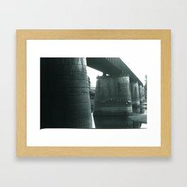 Hold'em Up Framed Art Print