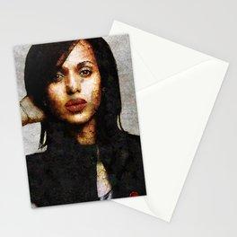 Portrait of Kerry Washington Stationery Cards